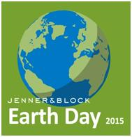 Jenner & Block Earth Day 2015 logo