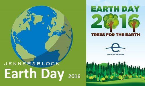 Earth Day Jenner Block Logo