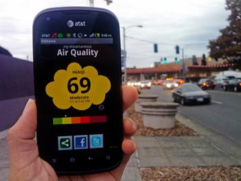 EPA Next Gen Smart Phone CitiSense Sensor